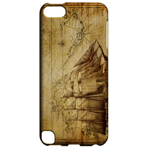 British Sea Power - Geeks Designer Line Map Series Hard Case for Apple iPod Touch 5
