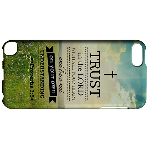 Proverbs 3:5 - Geeks Designer Line Bible Series Hard Case for Apple iPod Touch 5