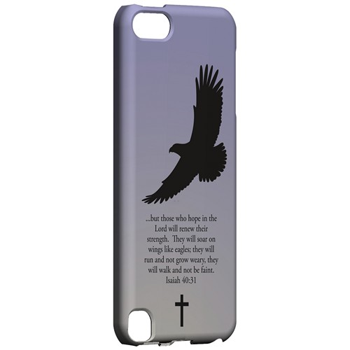 Isaiah 40:31 - Sleepy Grape - Geeks Designer Line Bible Series Hard Case for Apple iPod Touch 5