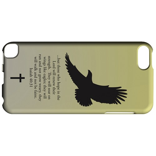 Isaiah 40:31 - Sunset Yellow - Geeks Designer Line Bible Series Hard Case for Apple iPod Touch 5