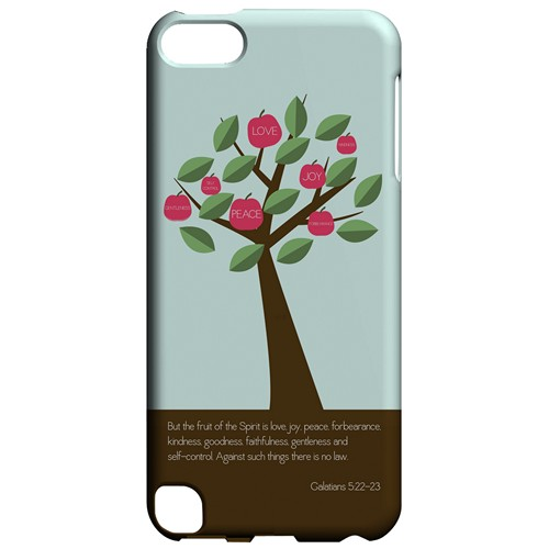 Galatians 5:22-23 - Geeks Designer Line Bible Series Hard Case for Apple iPod Touch 5