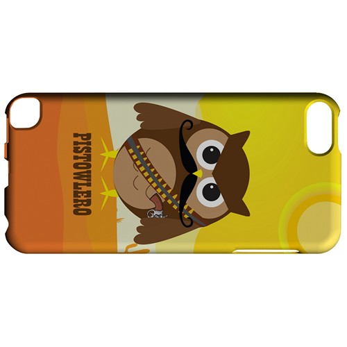 Pistowlero - Geeks Designer Line Owl Series Hard Case for Apple iPod Touch 5