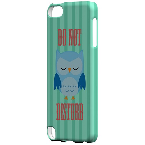 Do Not Disturb - Geeks Designer Line Owl Series Hard Case for Apple iPod Touch 5