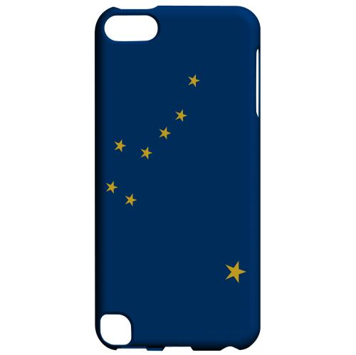 Alaska - Geeks Designer Line Flag Series Hard Back Case for Apple iPod Touch 5