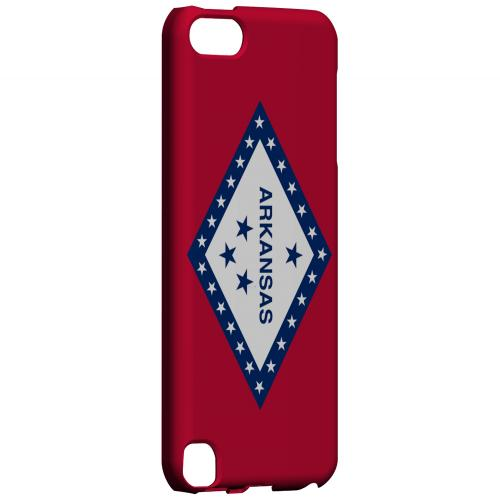 Arkansas - Geeks Designer Line Flag Series Hard Back Case for Apple iPod Touch 5