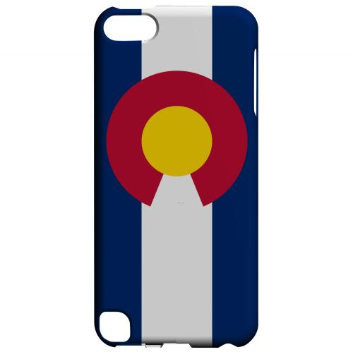 Colorado - Geeks Designer Line Flag Series Hard Back Case for Apple iPod Touch 5
