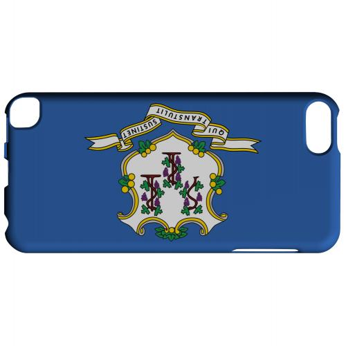 Connecticut - Geeks Designer Line Flag Series Hard Back Case for Apple iPod Touch 5