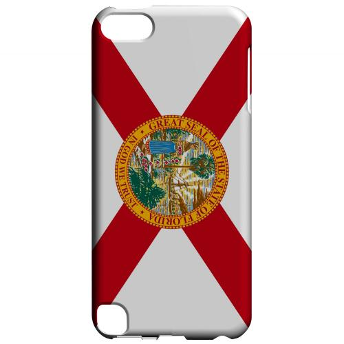 Florida - Geeks Designer Line Flag Series Hard Back Case for Apple iPod Touch 5