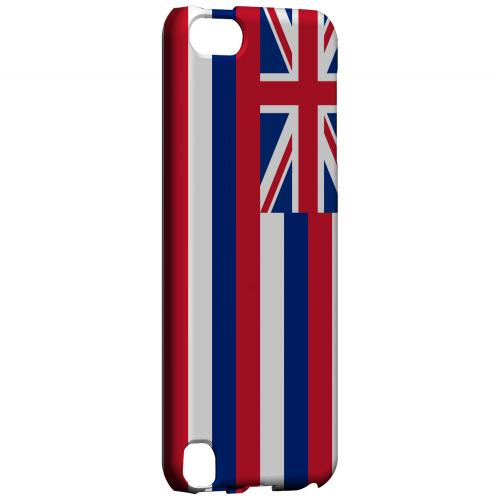 Hawaii - Geeks Designer Line Flag Series Hard Back Case for Apple iPod Touch 5