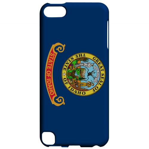 Idaho - Geeks Designer Line Flag Series Hard Back Case for Apple iPod Touch 5