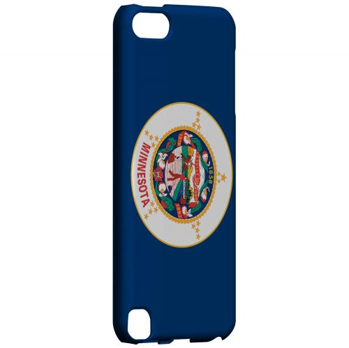 Minnesota - Geeks Designer Line Flag Series Hard Back Case for Apple iPod Touch 5