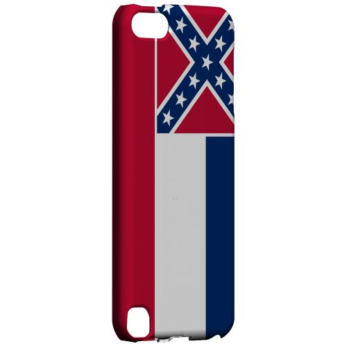 Mississippi - Geeks Designer Line Flag Series Hard Back Case for Apple iPod Touch 5