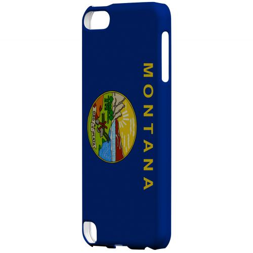 Montana - Geeks Designer Line Flag Series Hard Back Case for Apple iPod Touch 5