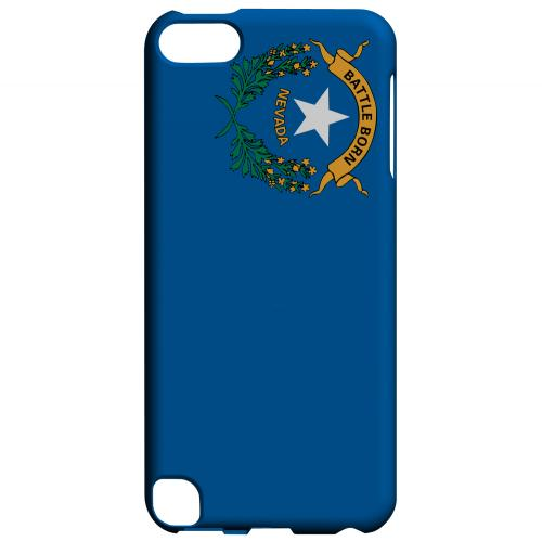 Nevada - Geeks Designer Line Flag Series Hard Back Case for Apple iPod Touch 5