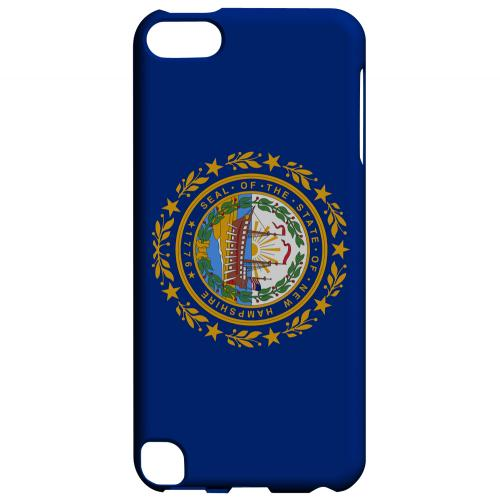 New Hampshire - Geeks Designer Line Flag Series Hard Back Case for Apple iPod Touch 5