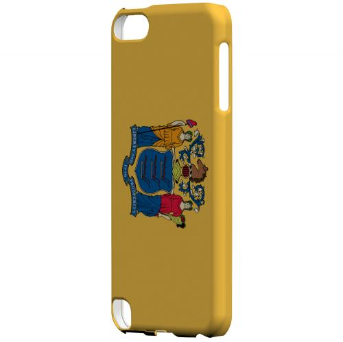New Jersey - Geeks Designer Line Flag Series Hard Back Case for Apple iPod Touch 5