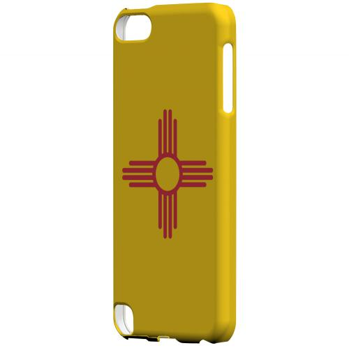 New Mexico - Geeks Designer Line Flag Series Hard Back Case for Apple iPod Touch 5