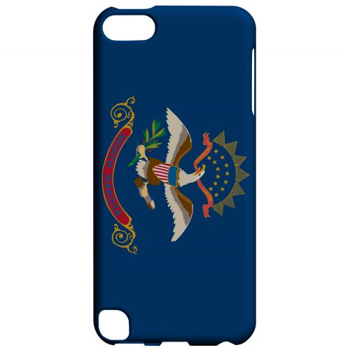North Dakota - Geeks Designer Line Flag Series Hard Back Case for Apple iPod Touch 5