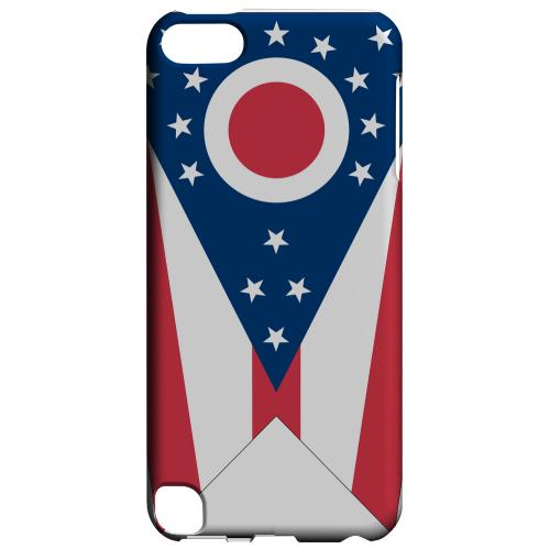 Ohio - Geeks Designer Line Flag Series Hard Back Case for Apple iPod Touch 5
