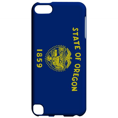 Oregon - Geeks Designer Line Flag Series Hard Back Case for Apple iPod Touch 5