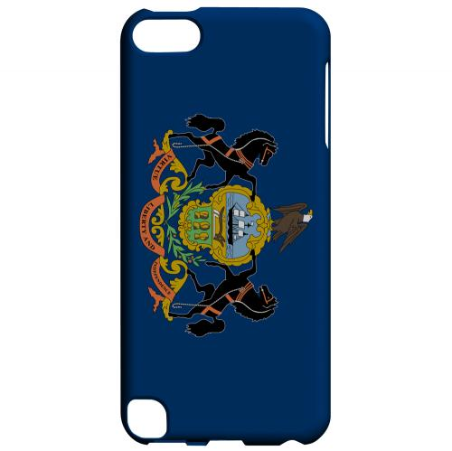 Pennsylvania - Geeks Designer Line Flag Series Hard Back Case for Apple iPod Touch 5