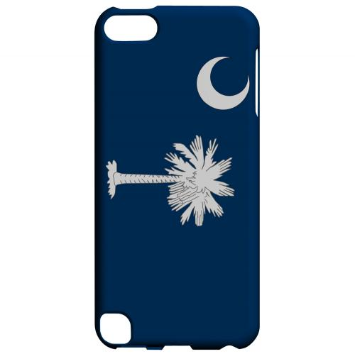 South Carolina - Geeks Designer Line Flag Series Hard Back Case for Apple iPod Touch 5