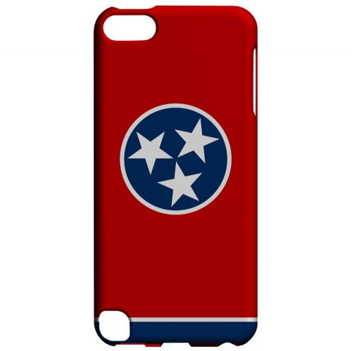 Tennessee - Geeks Designer Line Flag Series Hard Back Case for Apple iPod Touch 5