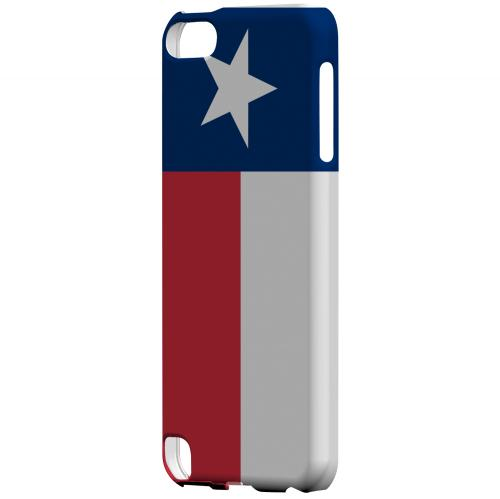 Texas - Geeks Designer Line Flag Series Hard Back Case for Apple iPod Touch 5