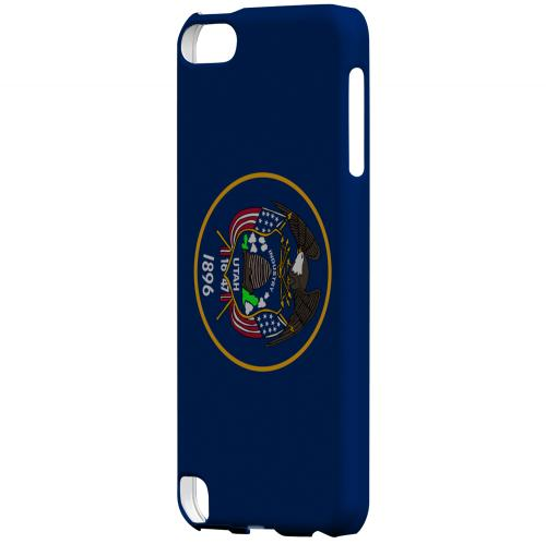 Utah - Geeks Designer Line Flag Series Hard Back Case for Apple iPod Touch 5
