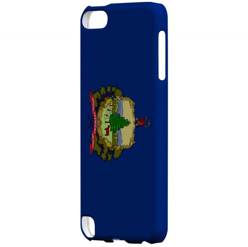 Vermont - Geeks Designer Line Flag Series Hard Back Case for Apple iPod Touch 5