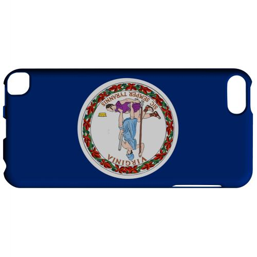 Virginia - Geeks Designer Line Flag Series Hard Back Case for Apple iPod Touch 5