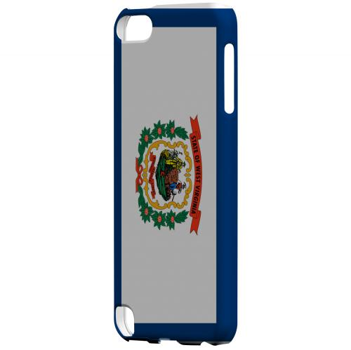 West Virginia - Geeks Designer Line Flag Series Hard Back Case for Apple iPod Touch 5