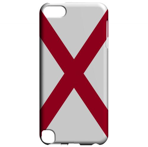 Alabama - Geeks Designer Line Flag Series Hard Back Case for Apple iPod Touch 5