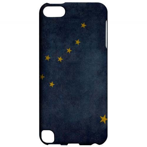 Grunge Alaska - Geeks Designer Line Flag Series Hard Case for Apple iPod Touch 5