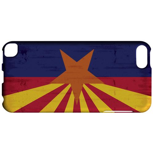 Grunge Arizona - Geeks Designer Line Flag Series Hard Case for Apple iPod Touch 5