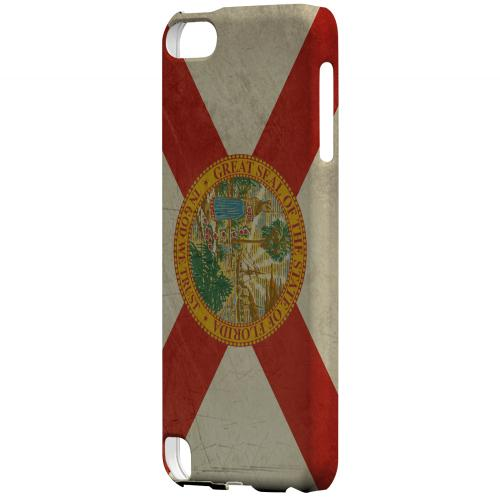 Grunge Florida - Geeks Designer Line Flag Series Hard Case for Apple iPod Touch 5