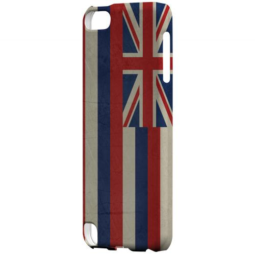 Grunge Hawaii - Geeks Designer Line Flag Series Hard Case for Apple iPod Touch 5
