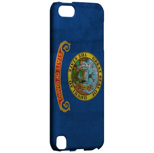 Grunge Idaho - Geeks Designer Line Flag Series Hard Case for Apple iPod Touch 5