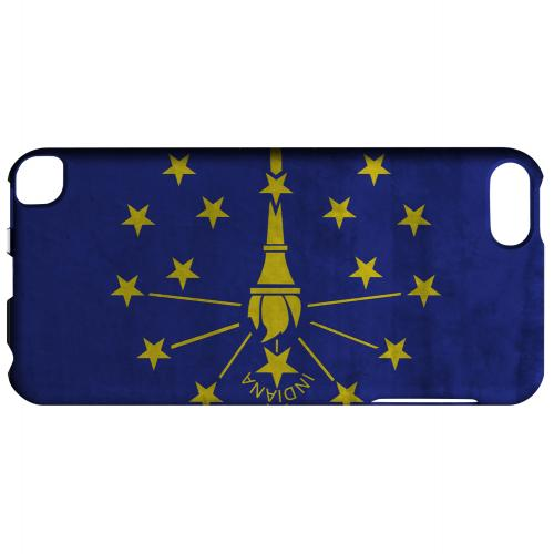 Grunge Indiana - Geeks Designer Line Flag Series Hard Case for Apple iPod Touch 5