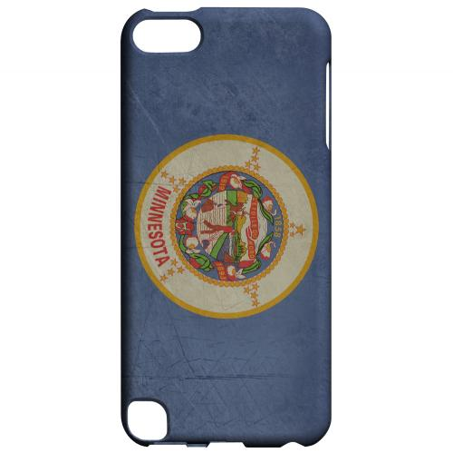 Grunge Minnesota - Geeks Designer Line Flag Series Hard Case for Apple iPod Touch 5