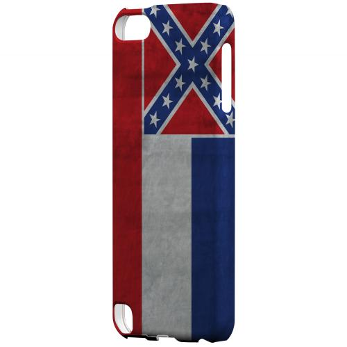 Grunge Mississippi - Geeks Designer Line Flag Series Hard Case for Apple iPod Touch 5
