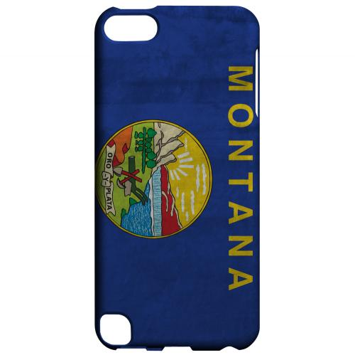 Grunge Montana - Geeks Designer Line Flag Series Hard Case for Apple iPod Touch 5