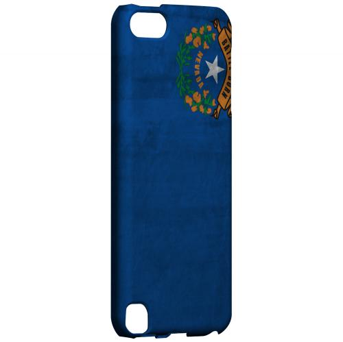 Grunge Nevada - Geeks Designer Line Flag Series Hard Case for Apple iPod Touch 5