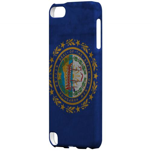 Grunge New Hampshire - Geeks Designer Line Flag Series Hard Case for Apple iPod Touch 5