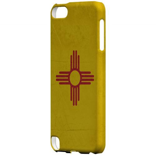 Grunge New Mexico - Geeks Designer Line Flag Series Hard Case for Apple iPod Touch 5