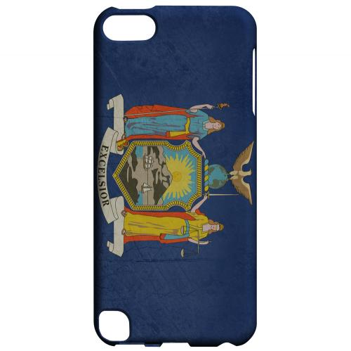 Grunge New York - Geeks Designer Line Flag Series Hard Case for Apple iPod Touch 5