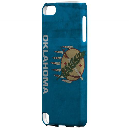 Grunge Oklahoma - Geeks Designer Line Flag Series Hard Case for Apple iPod Touch 5