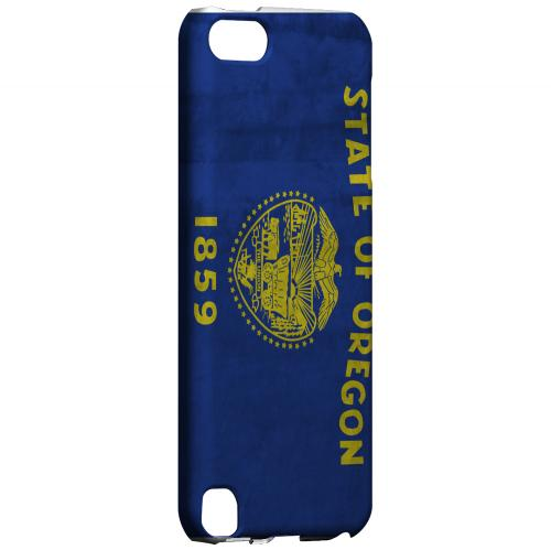 Grunge Oregon - Geeks Designer Line Flag Series Hard Case for Apple iPod Touch 5