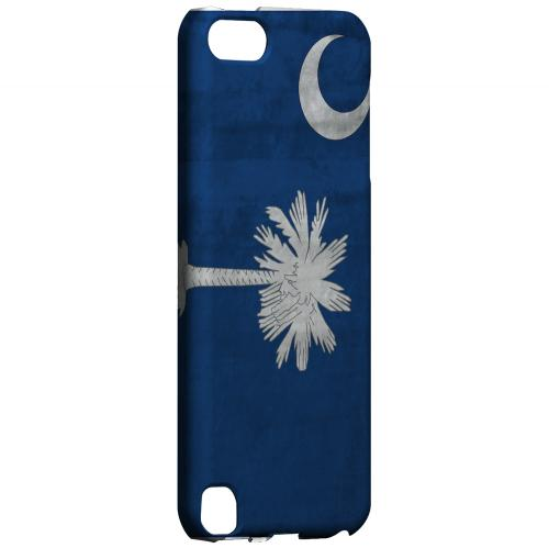 Grunge South Carolina - Geeks Designer Line Flag Series Hard Case for Apple iPod Touch 5