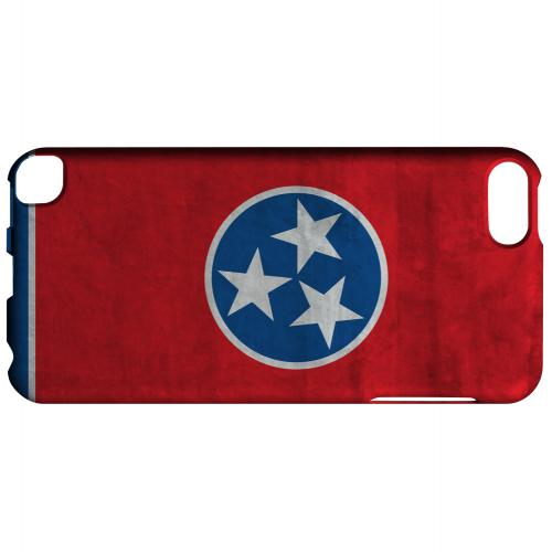 Grunge Tennessee - Geeks Designer Line Flag Series Hard Case for Apple iPod Touch 5